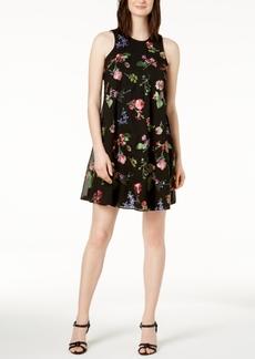 Calvin Klein Embroidered Shift Dress, In Regular & Petite Sizes