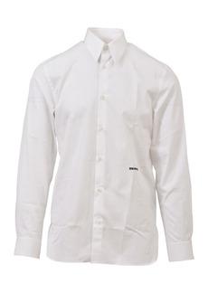 Calvin Klein Embroidered White Shirt