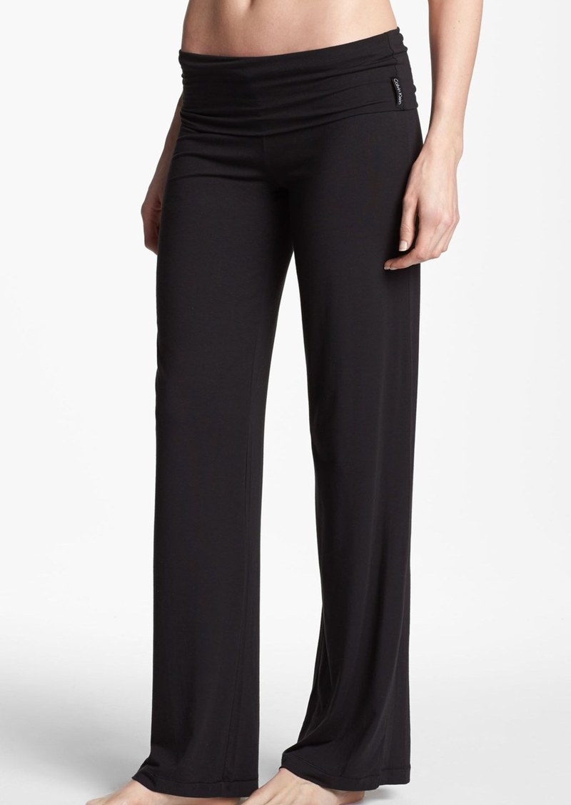 Calvin Klein 'Essentials' Roll Waist Pants