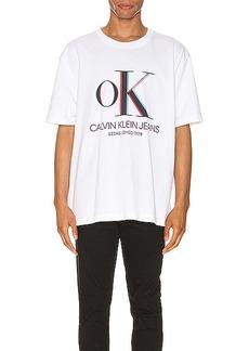 Calvin Klein Est. 1978 3D Logo Tee