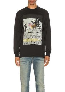 Calvin Klein Est. 1978 Moon Landings Long Sleeve Tee