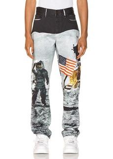Calvin Klein Est. 1978 Moon Landings Straight Jean