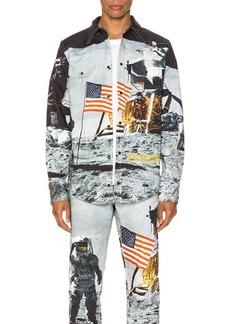 Calvin Klein Est. 1978 Moon Landings Western Shirt Jacket