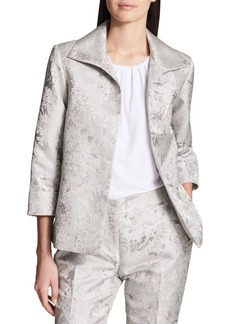 Calvin Klein Metallic Floral Jacket