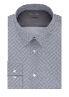 Calvin Klein Extra Slim-Fit Chevron Dress Shirt