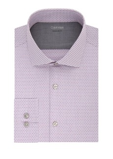 Calvin Klein Extra Slim-Fit Dobby Dress Shirt