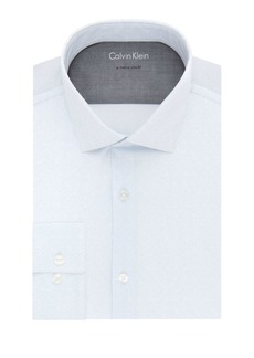 Calvin Klein Extra Slim-Fit Printed Dress Shirt