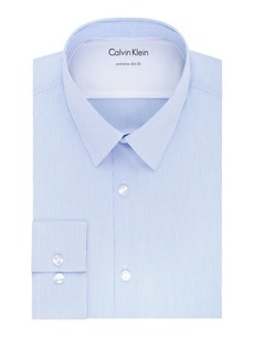 Calvin Klein Extra-Slim Fit Stripe Dress Shirt