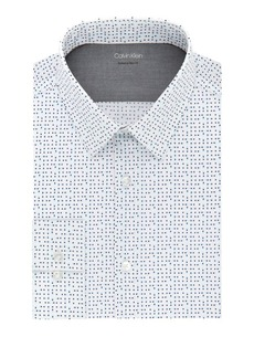 Calvin Klein Extra Slim Printed Dress Shirt