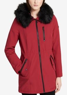 Calvin Klein Faux-Fur-Lined Parka