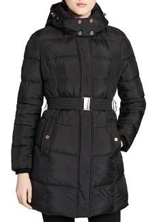 Calvin Klein Faux Fur Lined Puffer Coat