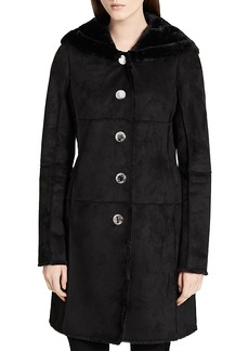 Calvin Klein Faux Shearling Coat