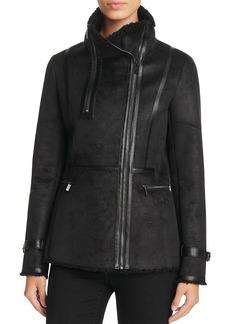 Calvin Klein Faux Shearling Jacket
