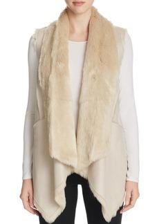 Calvin Klein Faux Shearling Vest - 100% Bloomingdale's Exclusive