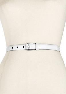 Calvin Klein Feather Edge Stitch Belt