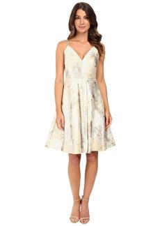 Calvin Klein Fit & Flare Brocade Dress CD6B1X8N