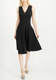 Calvin Klein Fit & Flare Midi Dress