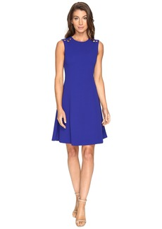 Calvin Klein Fit and Flare Dress CD7C125E
