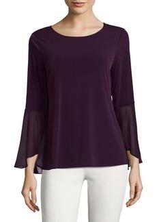 Calvin Klein Flare Sleeve Blouse