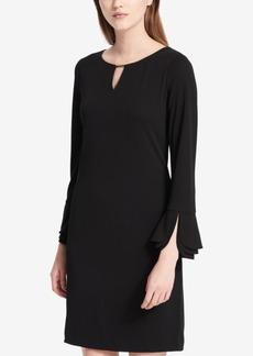 Calvin Klein Flare-Sleeve Dress