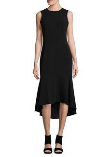 Calvin Klein Flared High-Low Dress