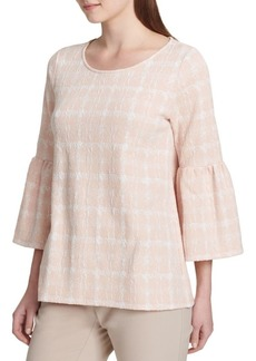 Calvin Klein Flared-Sleeve Blouse
