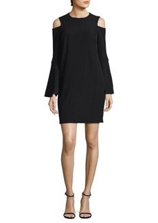 Calvin Klein Flared Sleeve Mini Dress