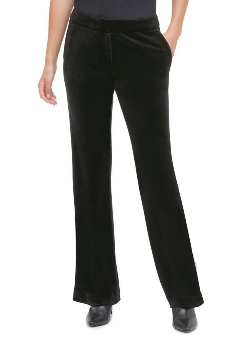 Calvin Klein Flared Velvet Pants