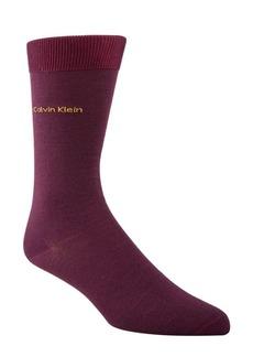 Calvin Klein Flat Knit Crew Socks