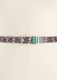 Calvin Klein Flat Stripe Printed Belt