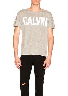 Calvin Klein Flocked Calvin Tee