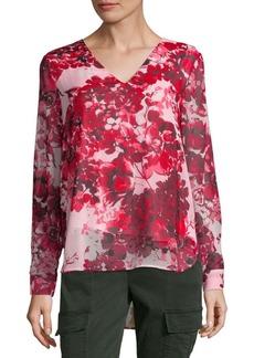 Calvin Klein Floral Blouse