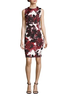 Calvin Klein Floral Bodycon Dress
