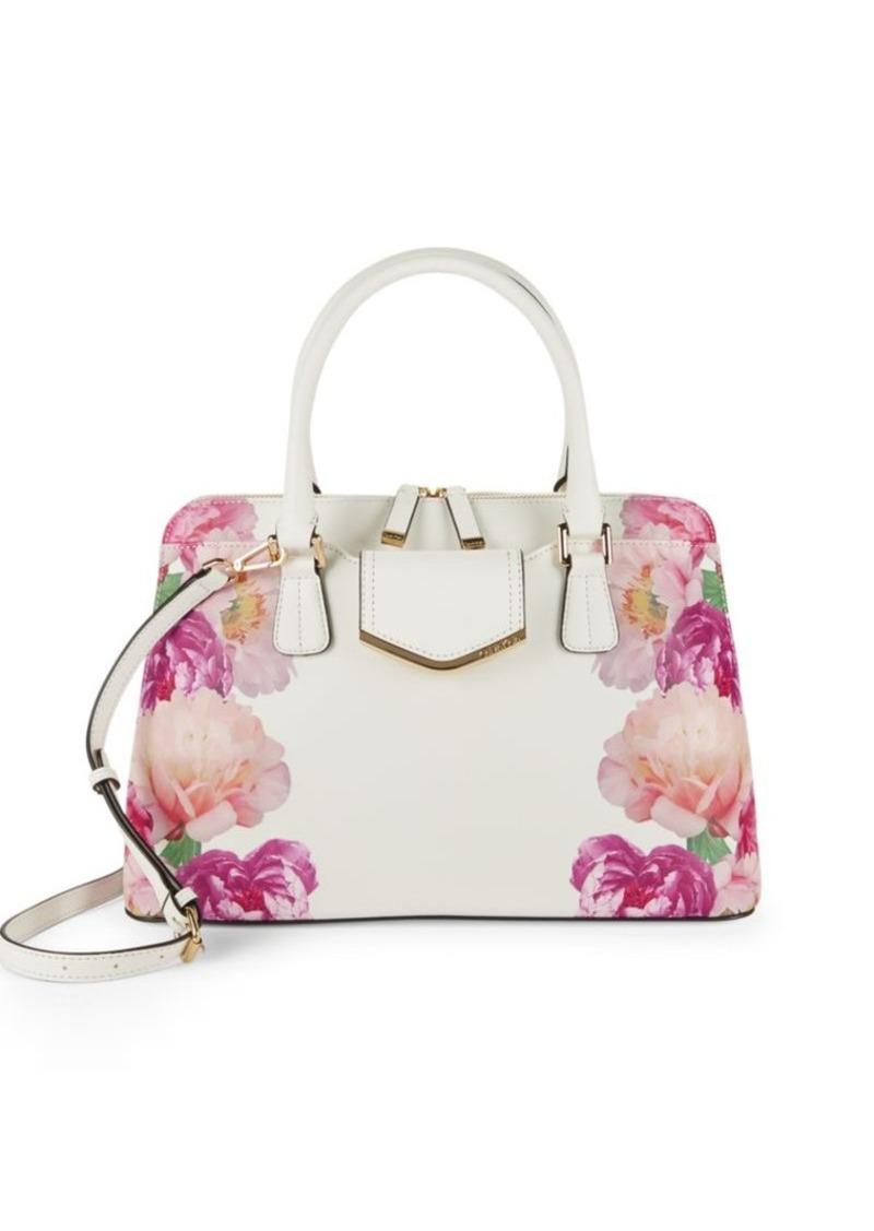 d9c994fa9aa9 Calvin Klein Calvin Klein Floral Patterned Satchel Bag