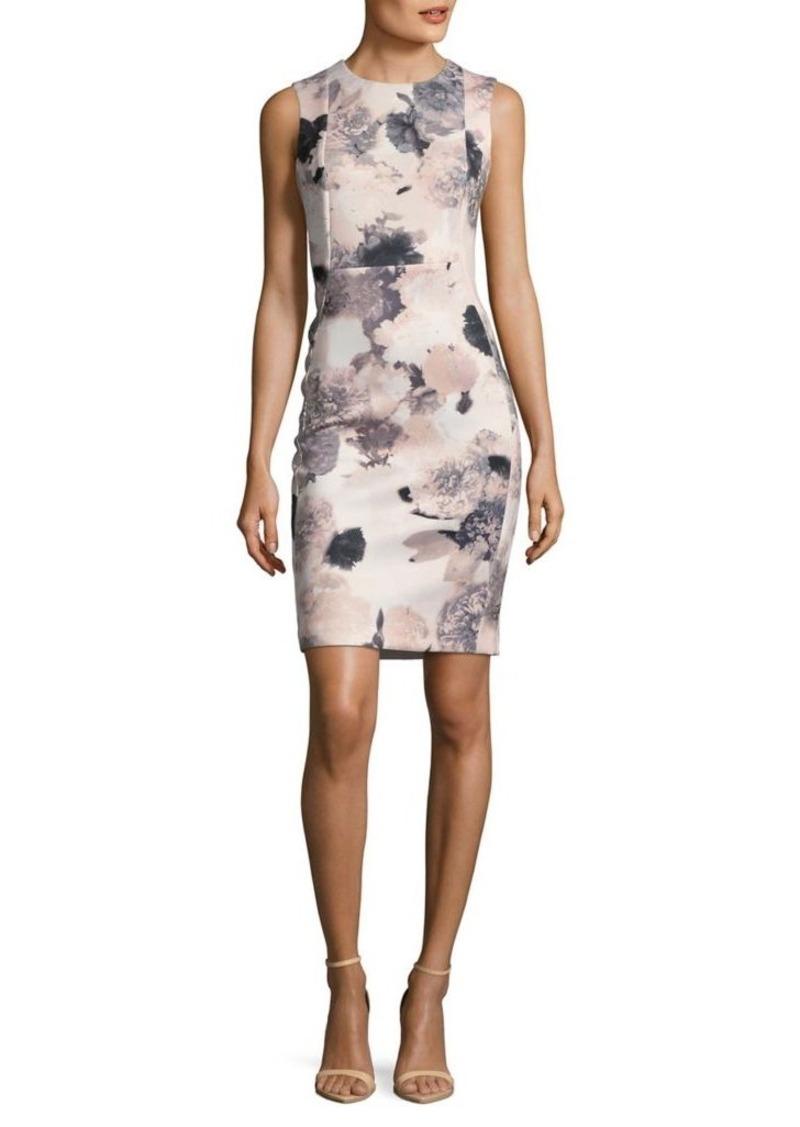 eee0aed6 Calvin Klein Calvin Klein Floral-Print Sheath Dress | Dresses
