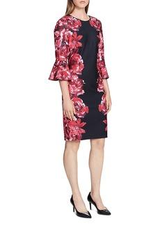 Calvin Klein Floral Print Sheath Dress