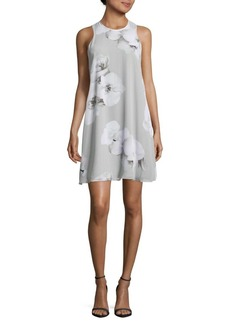 Calvin Klein Floral-Print Sleeveless Dress