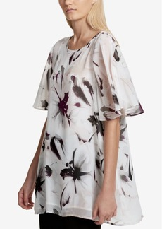 Calvin Klein Floral-Print Tunic