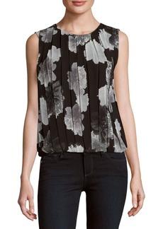 Calvin Klein Floral-Printed Sleeveless Top