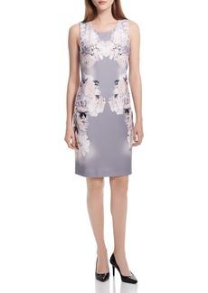 Calvin Klein Floral Sheath Dress