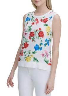 Calvin Klein Floral Shell Top