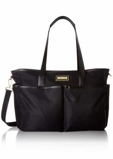 Calvin Klein Florence Nylon Organizational Diaper Bag Tote