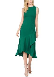 Calvin Klein Flounce Midi Sheath Dress