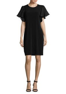 Calvin Klein Flutter Sheath Dress