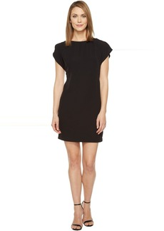 Calvin Klein Flutter Sleeve Shift Dress