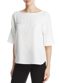 Calvin Klein Flutter Sleeve Top - 100% Exclusive