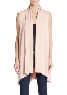 Calvin Klein Flyaway Open-Front Sweater Vest