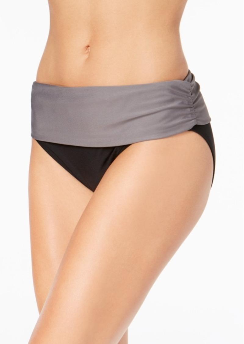 2cec09e8d0 Calvin Klein Calvin Klein Foldover Bikini Bottoms Women's Swimsuit ...