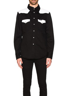 Calvin Klein Foundation Western Woven Shirt