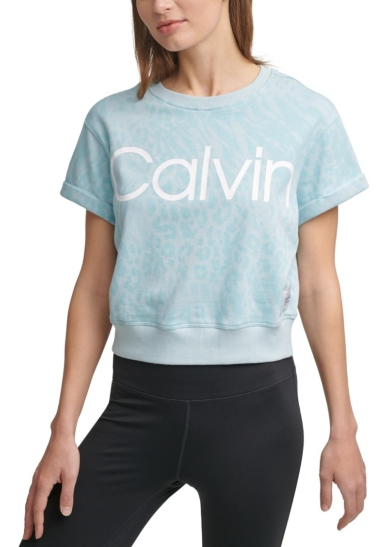 Calvin Klein French Terry Logo Top
